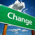 変化のサイン