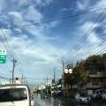雨がやんだら虹
