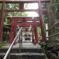 新屋山神社にいってきました